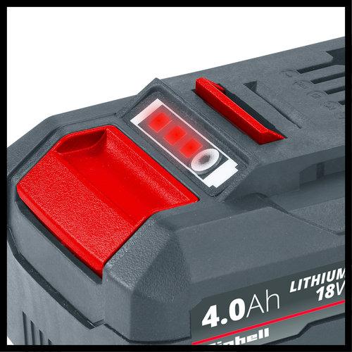 Einhell Einhell Power X-Change 18V 4,0 Ah Li-Ion Accu DUO
