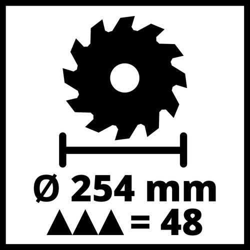 Einhell  Einhell TC-SM 254 Radiaal afkortzaag