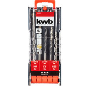 KWB Combi-borenset 9-delig 109155