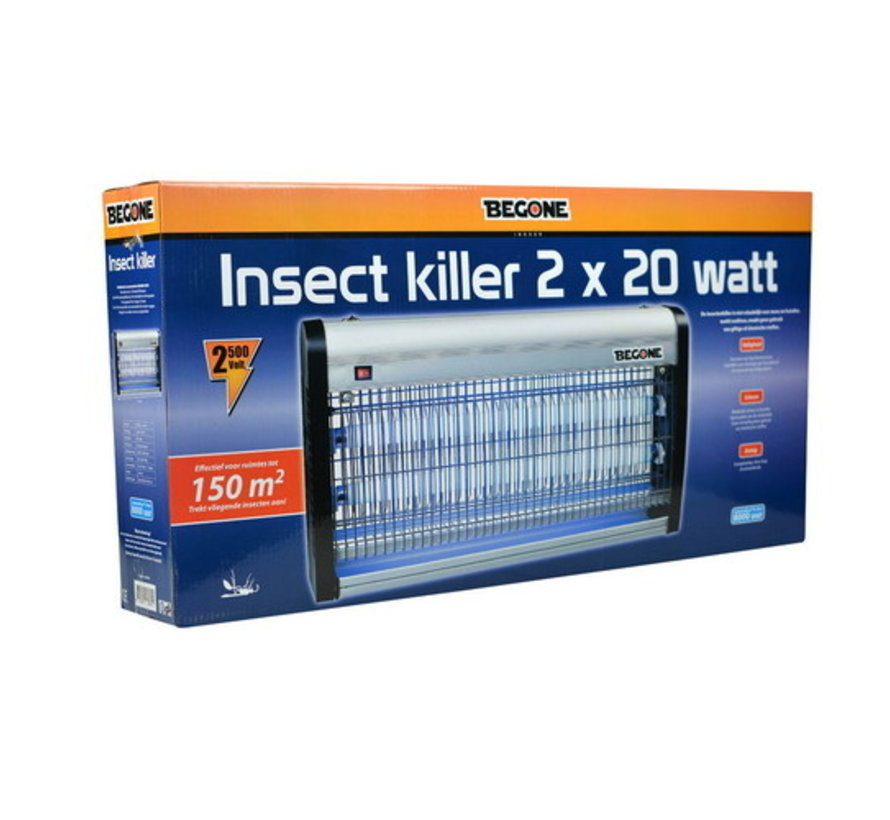 BEGONE Insect killer 2 X 20W - 150M²