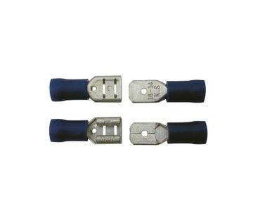 Skandia Skandia kabelschoen vlaksteker assortiment blauw 10 stuks