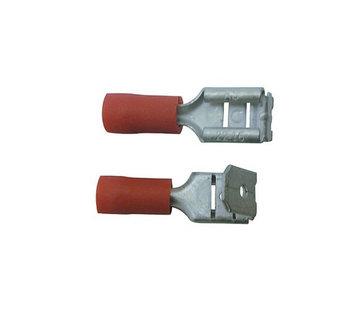 Skandia Skandia kabelschoen aftakstekerhuls rood 10 stuks