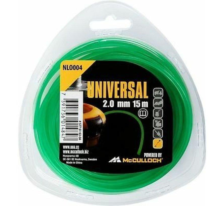 Universal Draad Nylon draad Grastrimmer NLO004 2,0mm