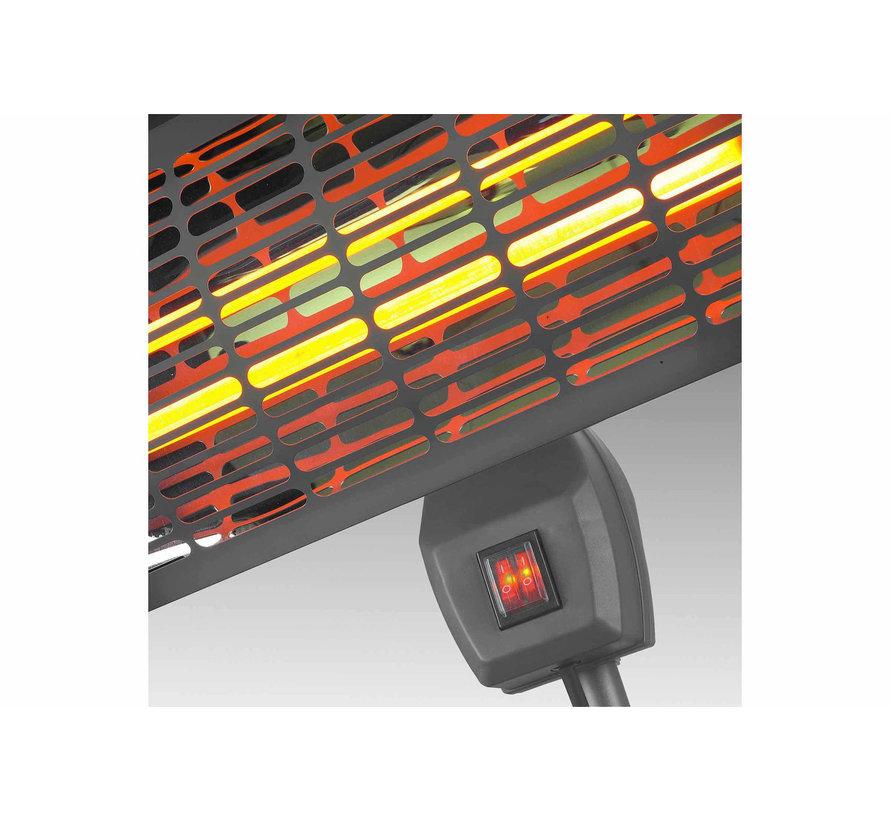 Eurom Q-time 2000S Elektrische terrasverwarmer 2000W