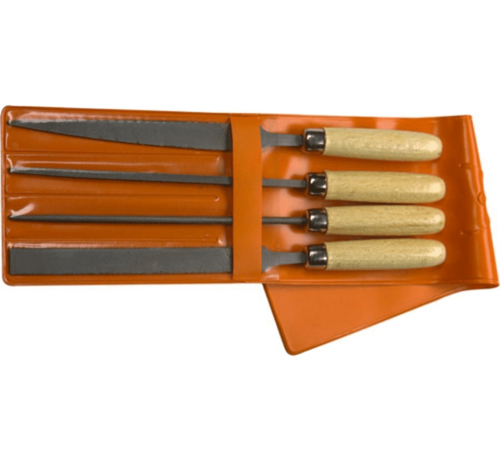Skandia Skandia Sleutelvijlset 100mm 4-delig