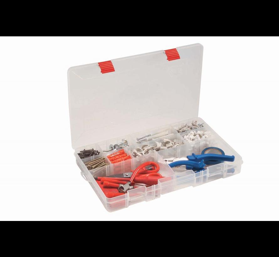 Draagbare sorteerdoos PL03750CR