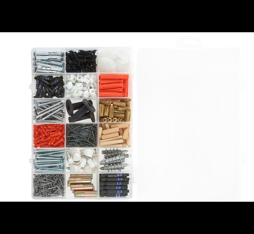 Grote sorteerdoos met 18 vakken PL36181TT