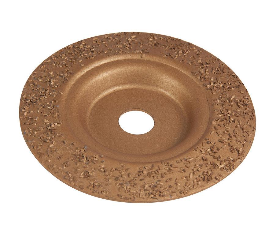 Hardmetalen slijpschijf 115 x 22,2 mm