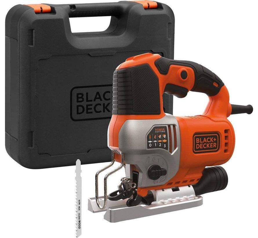 BLACK+DECKER Pendel decoupeerzaag BES610K-QS