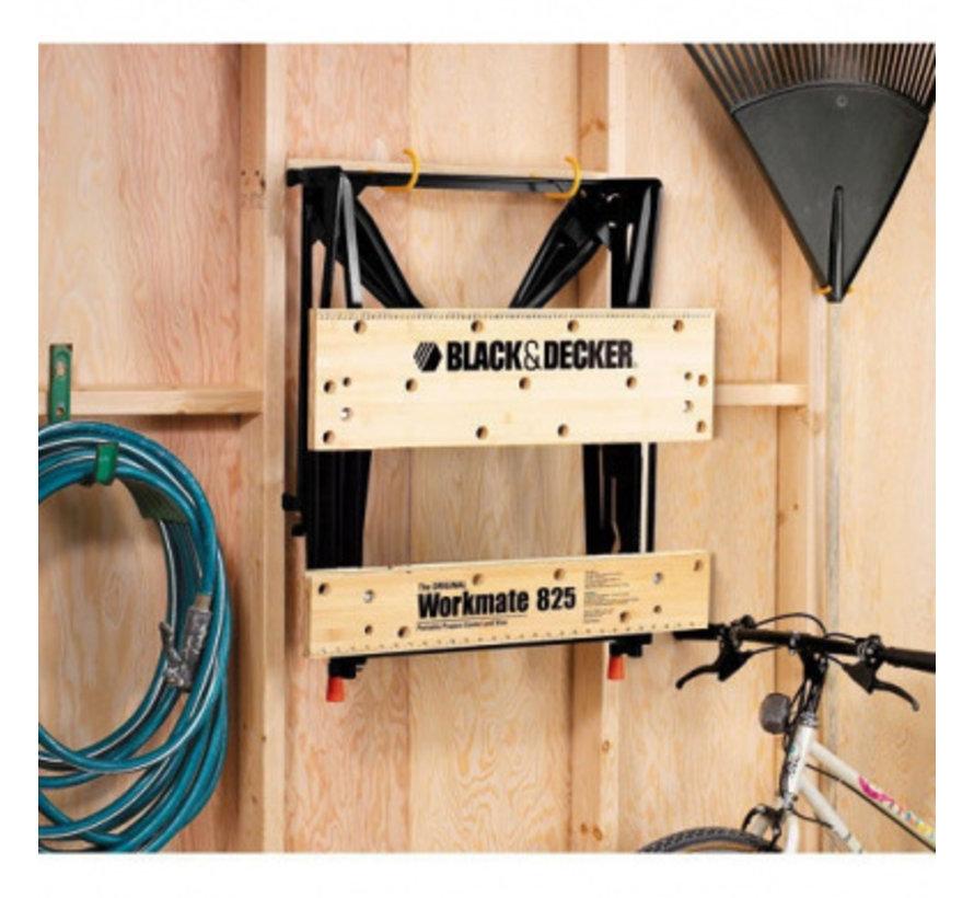 BLACK+DECKER Workmate opvouwbare werkbank tot 250 kg WM825