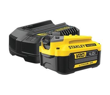 Stanley SFMCB14M1 Starterkit 1x 4,0Ah Accu + Lader V20