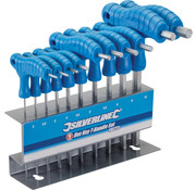 Silverline 10 Delige T-Grepen Inbussleutel Set