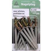 Deltafix Nagelpluggen 6x60mm 15 stuks