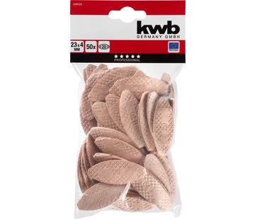 KWB Lamellen Size 0, 15x8x4 mm