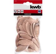 KWB KWB lamellen Size 10, 55x19x4 mm