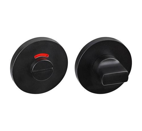 Impresso Impresso rozet WC, rond, verdekt Ø53 x 7 mm zwart