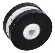 Impresso Rozet krukgat, rond, verdekt Ø53 x 7 mm zwart