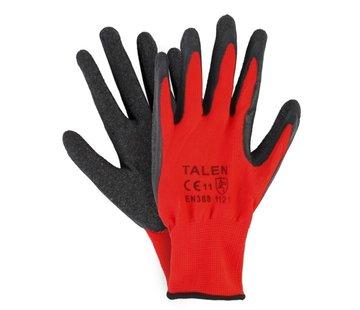 Talen-Tools Werkhandschoenen XL Rood/Zwart WH52