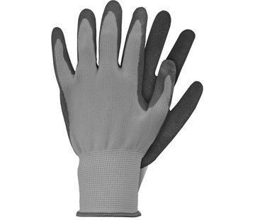 Talen-Tools Werkhandschoen S grijs Latex