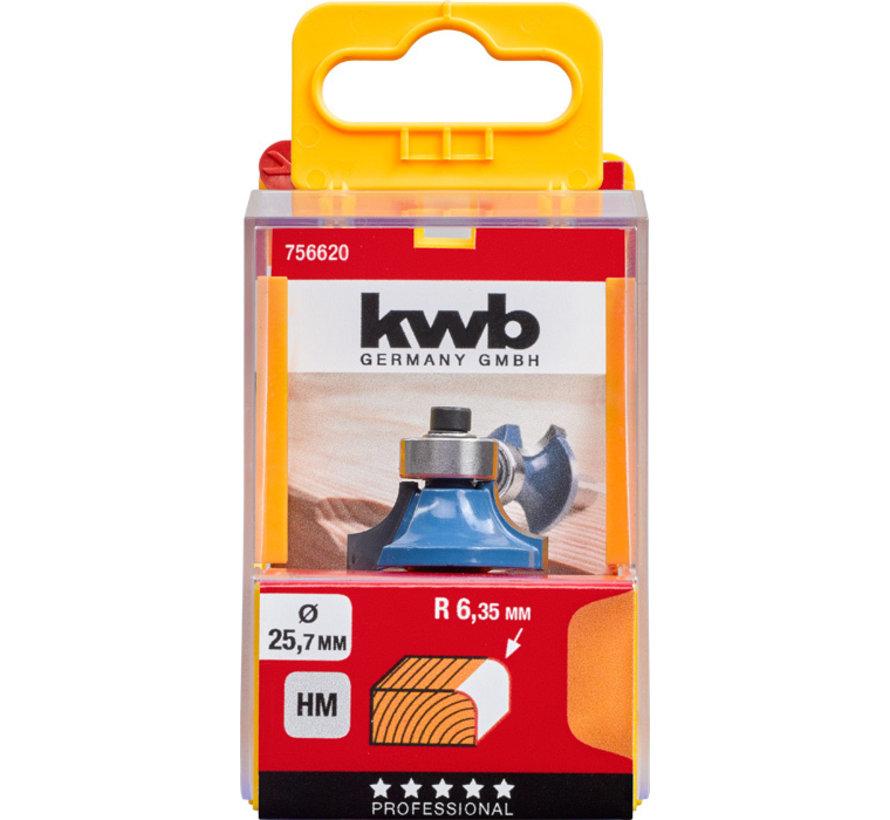 KWB Afrondfrees 32mm HM