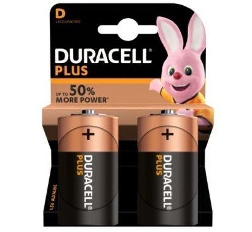 Duracell Duracell batterij D super alkaline LR20