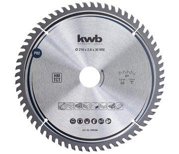 KWB Zaagblad 216x30 mm 64 Tands