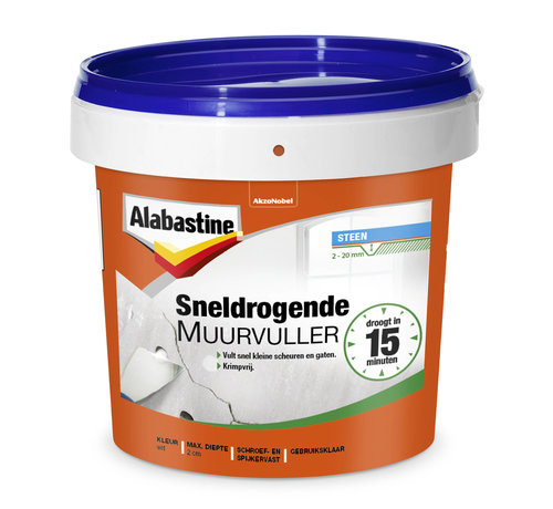 Alabastine Alabastine Sneldrogende Muurvuller 1KG
