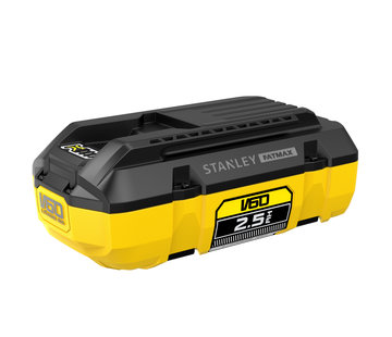 Stanley FATMAX® V60 54V 2.5AH ACCU