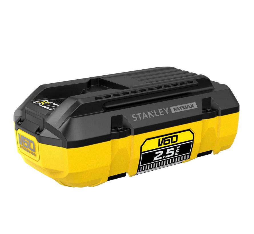 Stanley FatMax V60 54V 2.5AH ACCU
