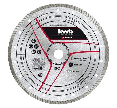 KWB KWB Diamantslijpschijf 250 x 25,4mm Turbo