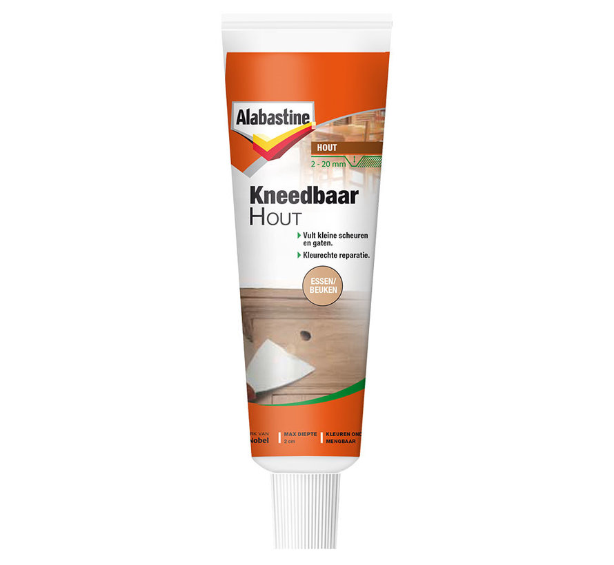 Alabastine Kneedbaar Hout (Essen/Beuken - 75gr.)