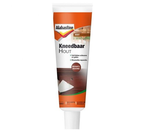 Alabastine Alabastine Kneedbaar Hout (Meranti/Mahonie - 75gr.)