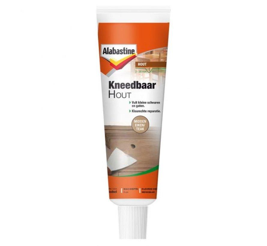 Alabastine Kneedbaar Hout (Midden eiken/Teak - 75gr.)