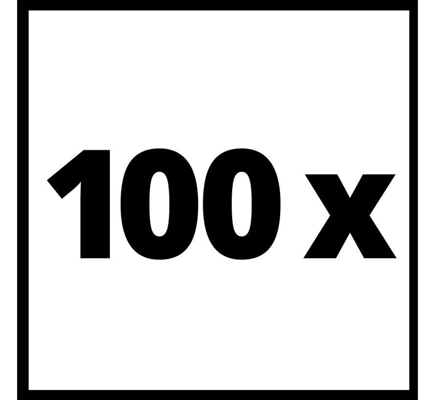 Bevestigingshaken, 100 stuks, voor Robotmaaiers