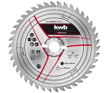 KWB Zaagblad 250 x 30 x 1,2 mm 42 Tands