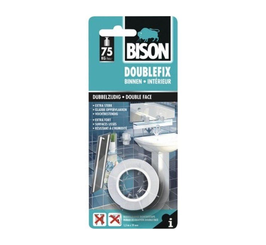 Bison Double Fix Binnen 1,5m1 x 19mm