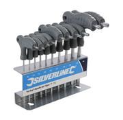 Silverline Silverline 10 Delige T-Grepen TORX-sleutel Set