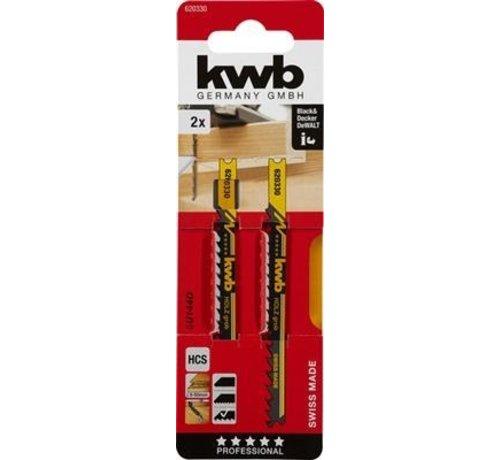 KWB KWB Decoupeerzaagbladen HCS U144D Grof