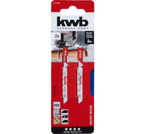 KWB KWB Decoupeerzaagbladen HSS UE18E Medium
