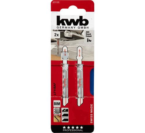 KWB KWB Decoupeerzaagbladen BIM T118AF T-schacht Fijn