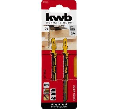 KWB KWB Decoupeerzaagbladen HCS T144D T-schacht Grof