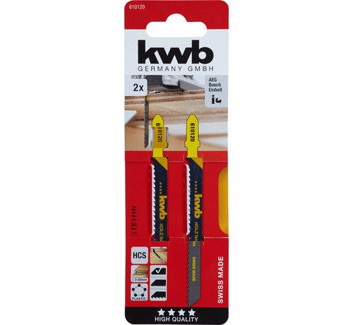 KWB KWB Decoupeerzaagbladen HCS TE111H T-schacht Fijn