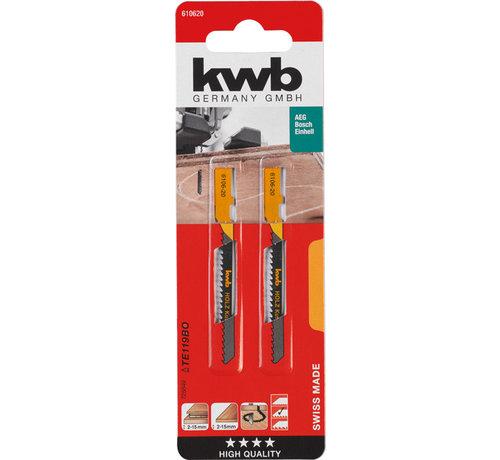 KWB KWB Decoupeerzaagbladen HCS T119BO T-schacht Curve