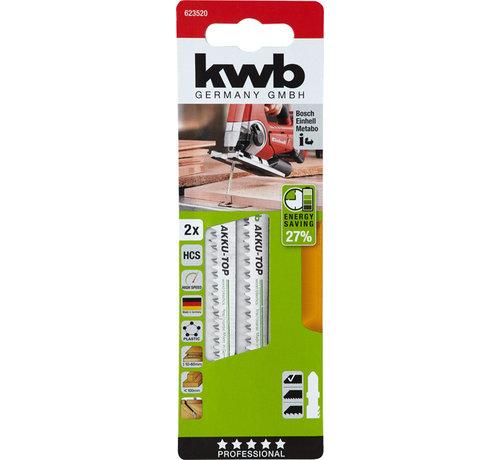 KWB KWB Decoupeerzaagbladen Akku-Top HCS T-schacht Fijn