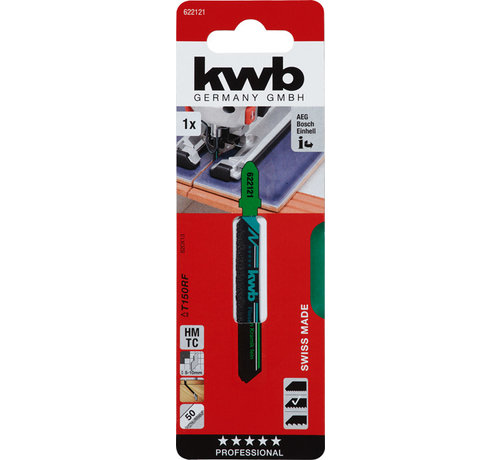 KWB KWB Decoupeerzaagbladen HMTC T130RF T-schacht Grof