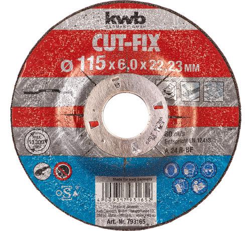 KWB KWB Afbraamschijf 115 x 6,0 x 22,23 mm CUT-FIX®