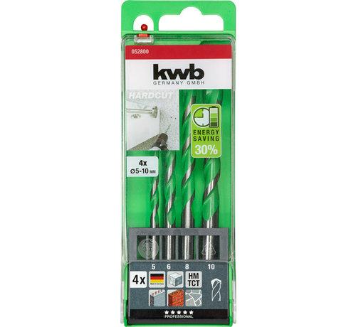 KWB KWB Granietboor 4-delig HARDCUT