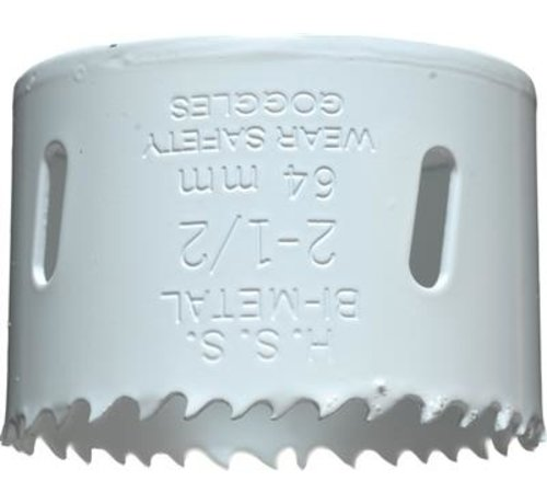 KWB KWB Gatenzaag Bimetaal HSS - CO 64mm