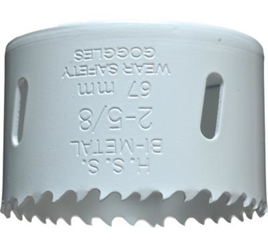 KWB Gatenzaag Bimetaal HSS - CO 67mm