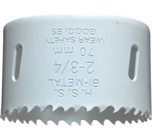 KWB KWB Gatenzaag Bimetaal HSS - CO 70mm